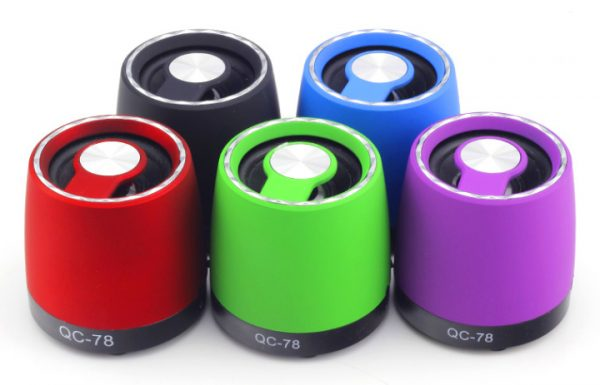 QC-78 High Fidelity Stereo Mini Speaker