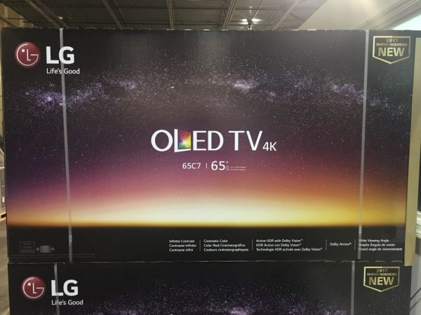 LG OLED65C7P 4K HDR Smart TV(2017 Model)